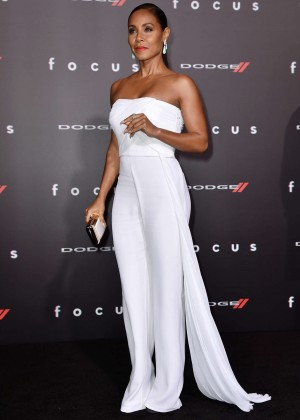 "Jada Pinkett Smith - ""Focus"" Premiere in Los Angeles"