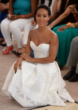 Jada Pinkett Smith - Honored with a star on the Miami Walk of Fame in Miami