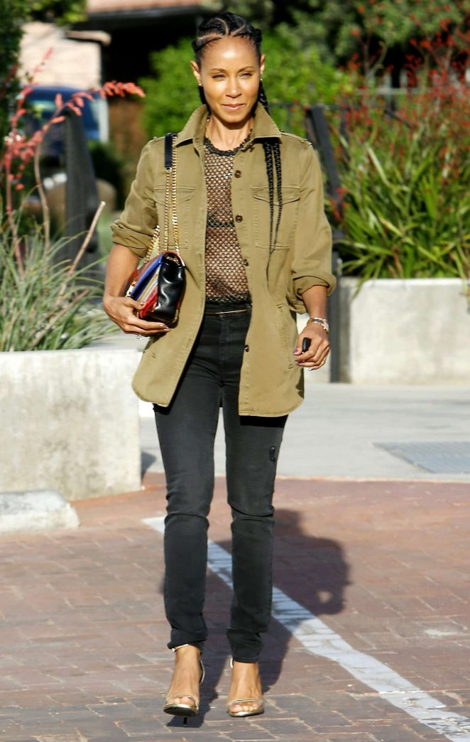 Jada Pinkett Smith - Out and about in Los Angeles