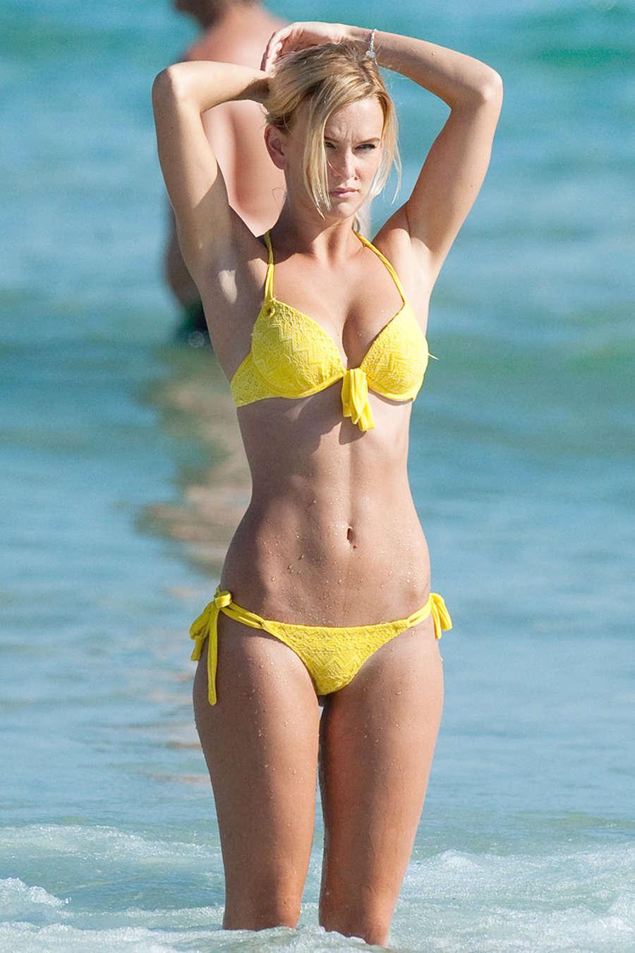 Jade bikini model