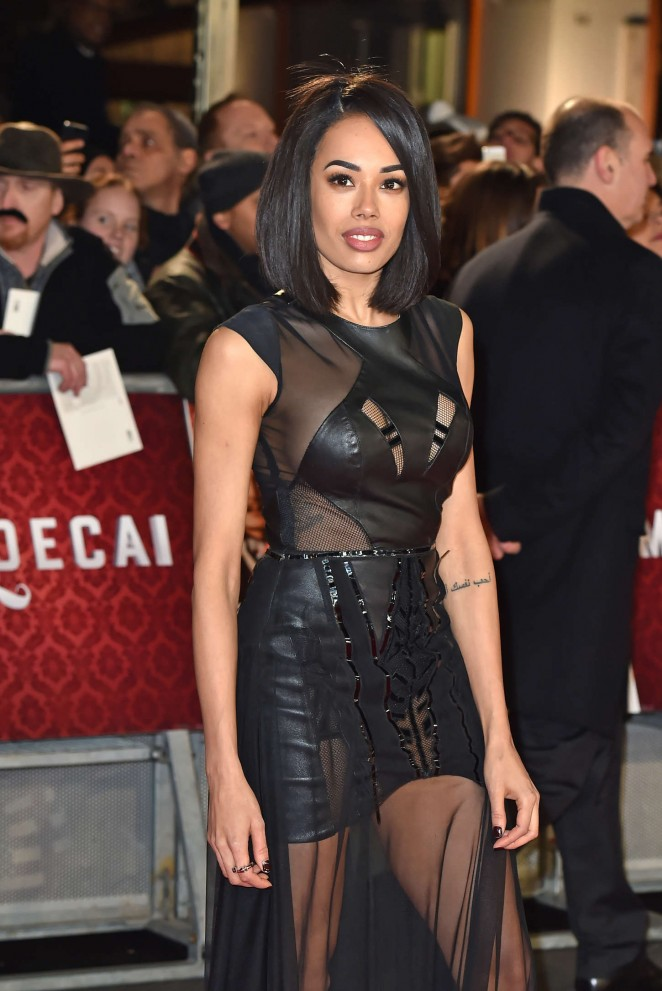 "Jade Ewen - ""Mortdecai"" Premiere in London"