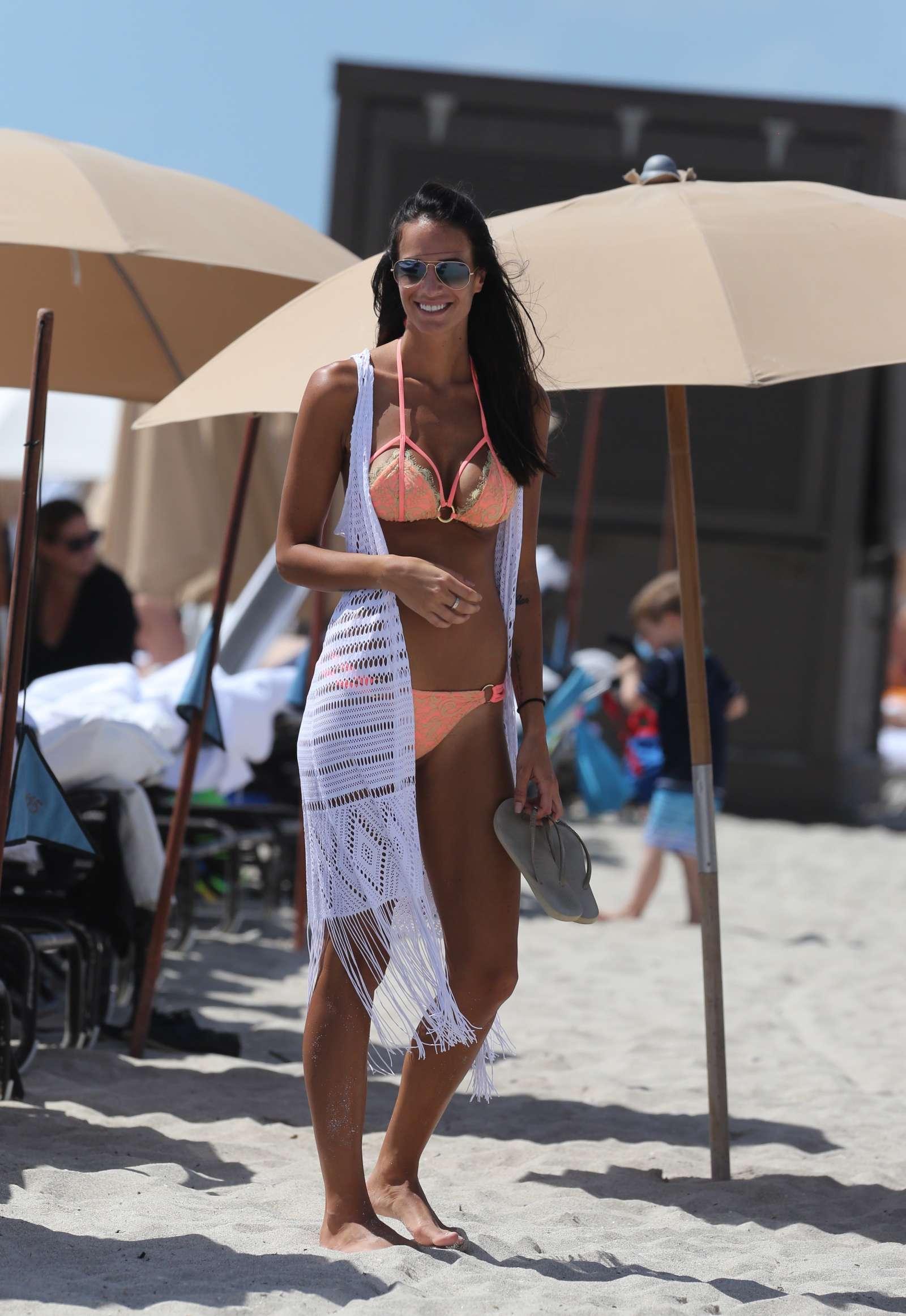 Jade Lagardere in Bikini on Miami Beach
