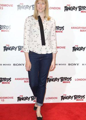 Jade Parfitt - The Angry Birds Gala Screening in London