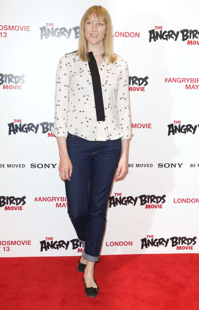 Jade Parfitt - The Angry Birds Gala Screening in London
