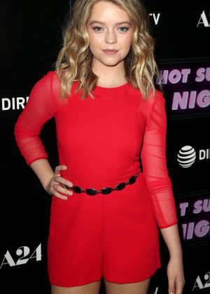 Jade Pettyjohn - 'Hot Summer Nights' Screening in Los Angeles