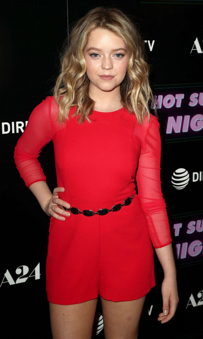Jade Pettyjohn - 'Hot Summer Nights' Screening in Los Angeles
