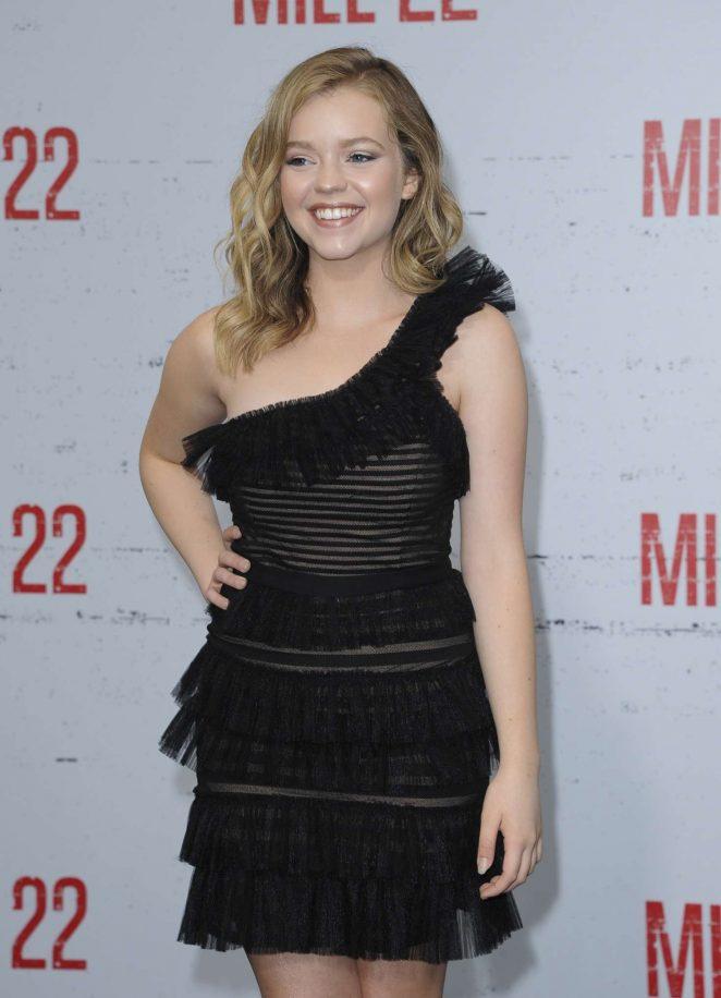 Jade Pettyjohn - 'Mile 22' Premiere in Los Angeles
