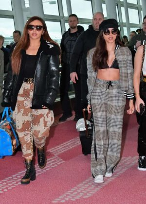 Jade Perrie Leigh-Anne and Jesy - Arrived at Tokyo International Airport