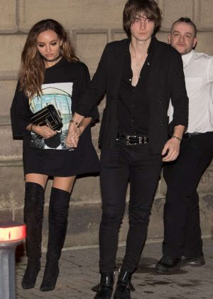 Jade Thirlwall with Jed Elliot Celebrated her 24th Birthday in Newcastle