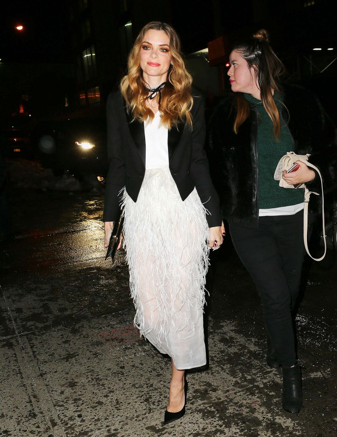 Jaime King - Arrives at a Target Event in New York