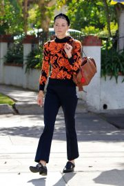 Jaime King - Arrives at Sweet Butter Kitchen in Sherman Oaks