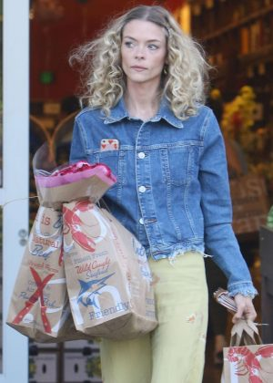 Jaime King at Bristol Farms in West Hollywood