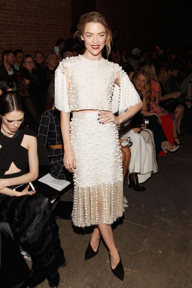 Jaime King - Christian Siriano 2016 Fashion Show in NYC