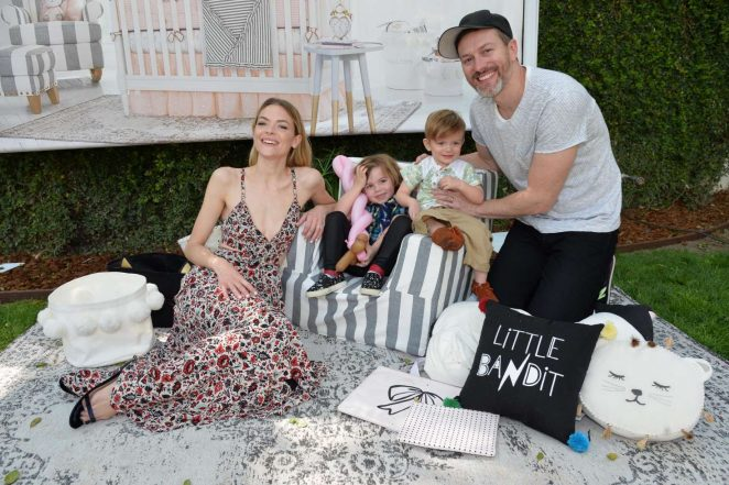 Jaime King: Emily and Meritt for Pottery Barn Kids Collection Launch Presentation -04