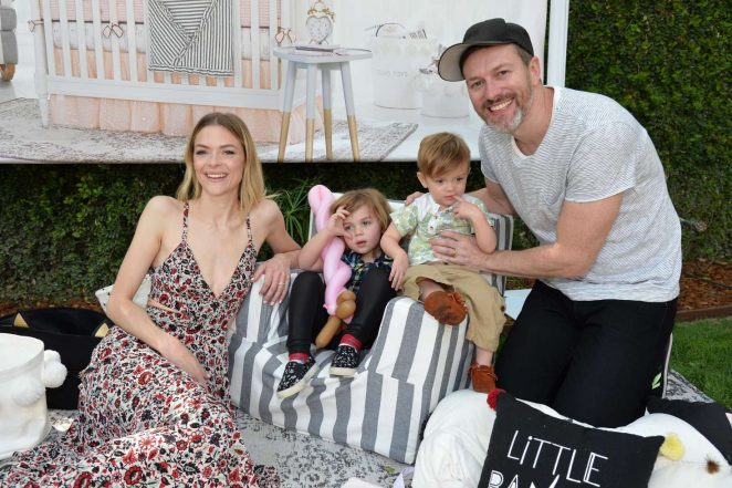 Jaime King: Emily and Meritt for Pottery Barn Kids Collection Launch Presentation -05