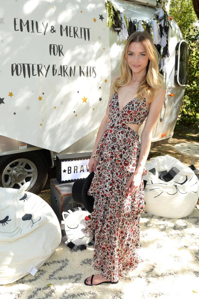 Jaime King: Emily and Meritt for Pottery Barn Kids Collection Launch Presentation -08