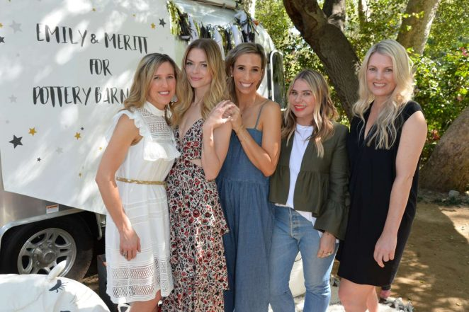 Jaime King: Emily and Meritt for Pottery Barn Kids Collection Launch Presentation -09