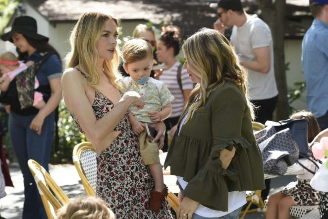 Jaime King: Emily and Meritt for Pottery Barn Kids Collection Launch Presentation -11