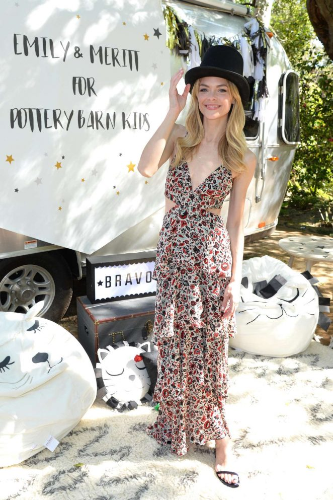 Jaime King: Emily and Meritt for Pottery Barn Kids Collection Launch Presentation -14
