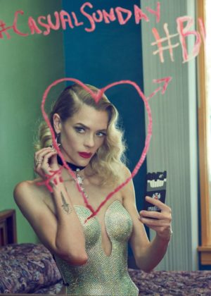 Jaime King - Galore magazine - September 2017 issue