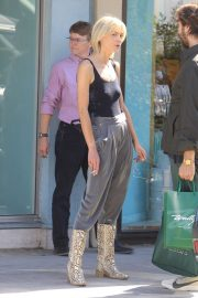 Jaime King goes shopping in Beverly Hills