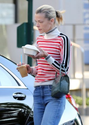 Jaime King in Jeans - Out in Los Angeles