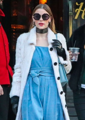 Jaime King - Leaving The Bowery Hotel in New York City