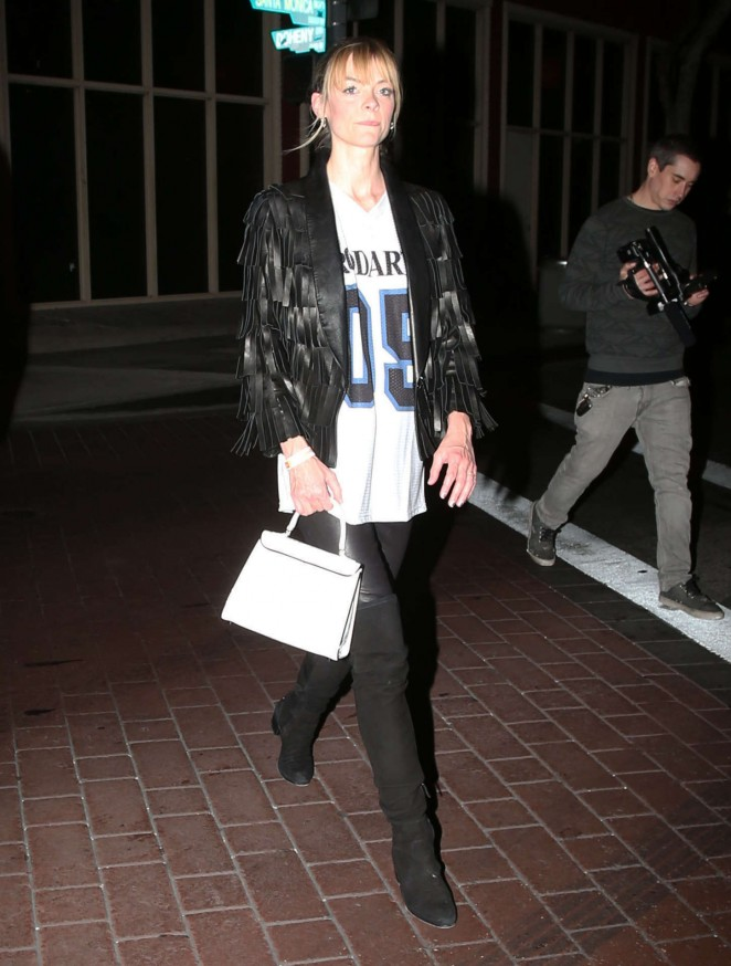 Jaime King - Leaving the Troubadour in West Hollywood