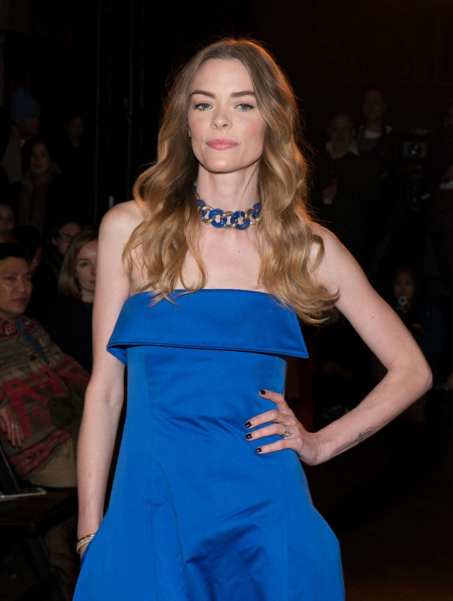 Jaime King - Monse 2016 Fashion Show in NYC