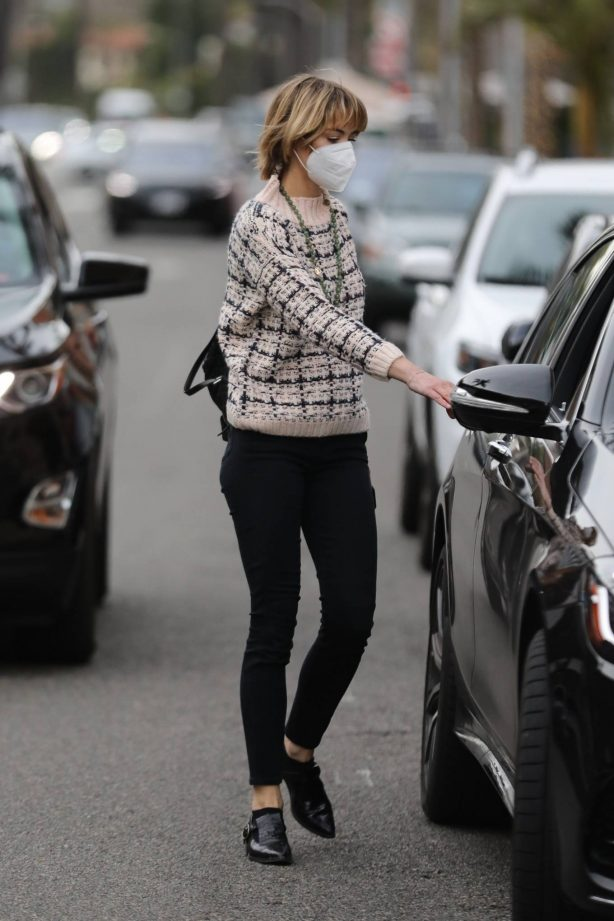 Jaime King - out and about in Beverly Hills