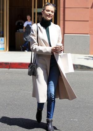 Jaime King - Out and about in LA