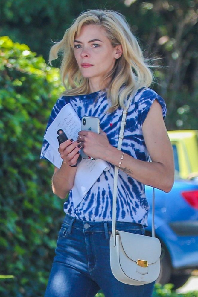 Jaime King - Out and about in Los Angeles