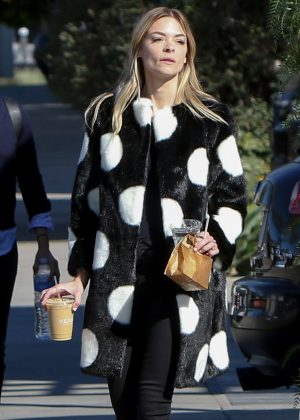 Jaime King out for coffee in West Hollywood