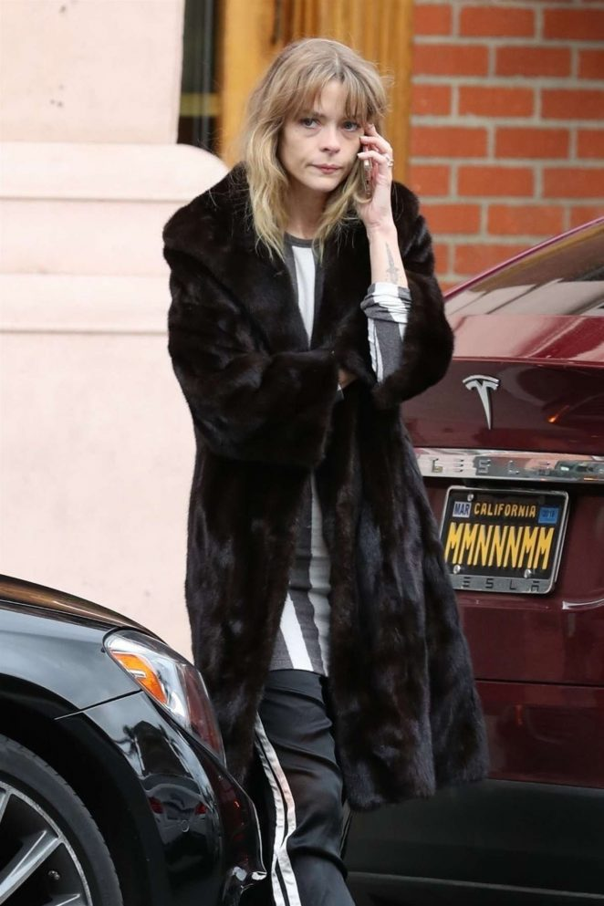 Jaime King out in Beverly Hills