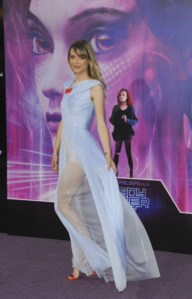 Jaime King - 'Ready Player One' Premiere in Los Angeles