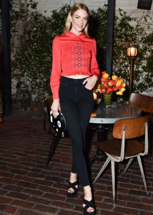 Jaime King - Sally Singer and Lisa Love Denim Dinner in Los Angeles