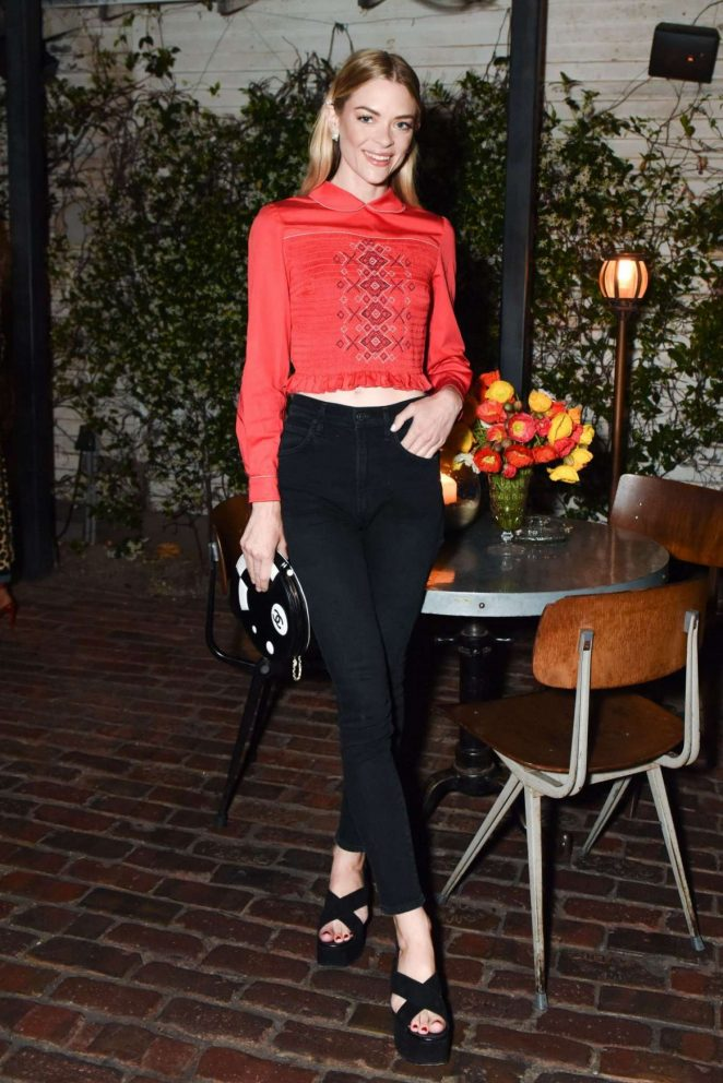 Jaime King – Sally Singer and Lisa Love Denim Dinner in Los Angeles