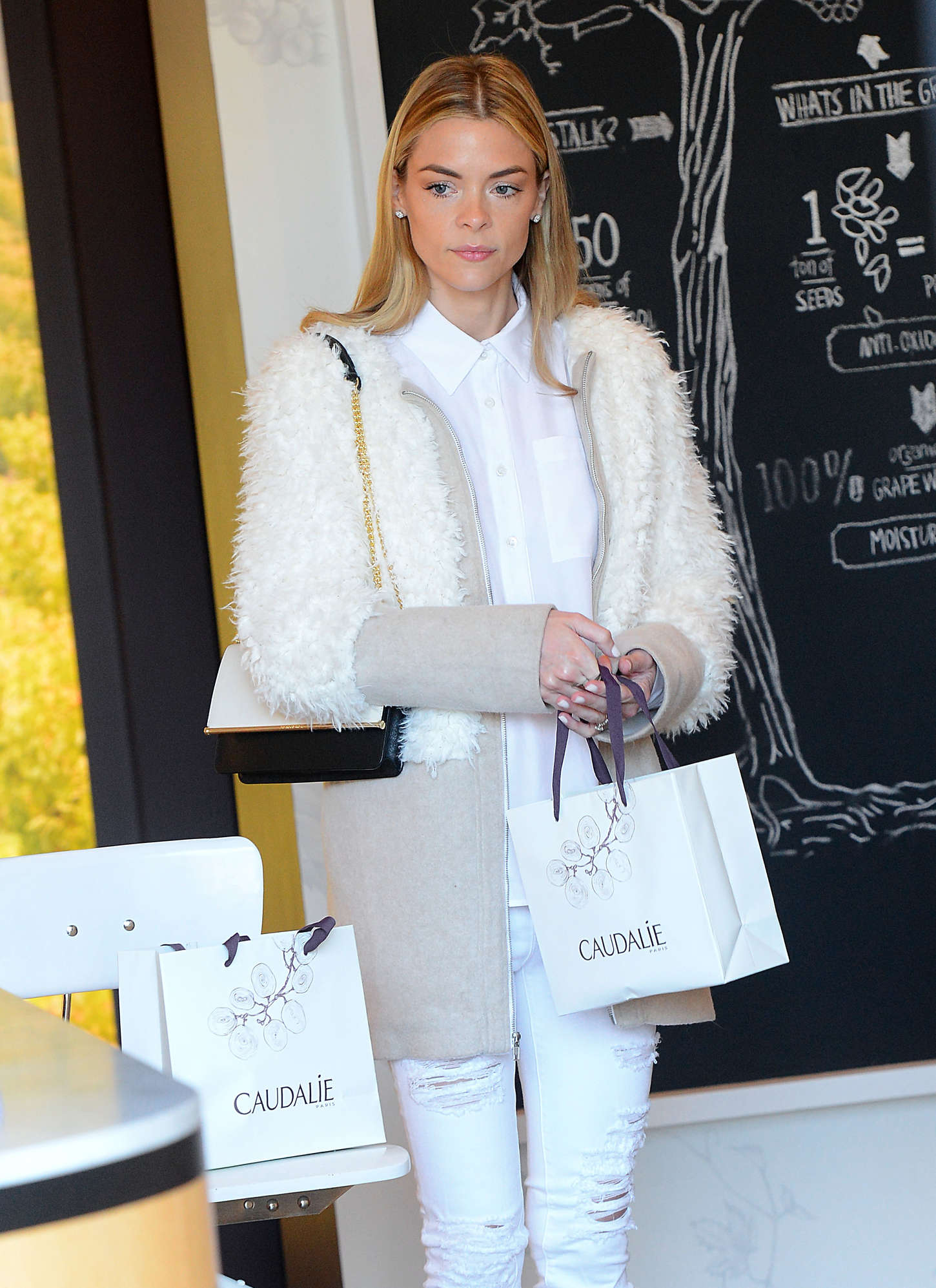 Jaime King - Shopping at Caudalie Boutique in Venice