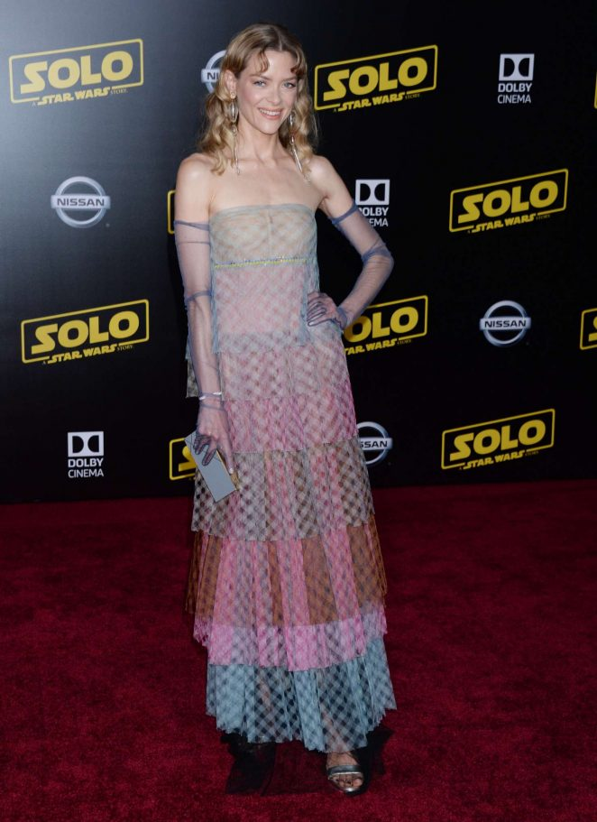Jaime King - 'Solo: A Star Wars Story' Premiere in Los Angeles