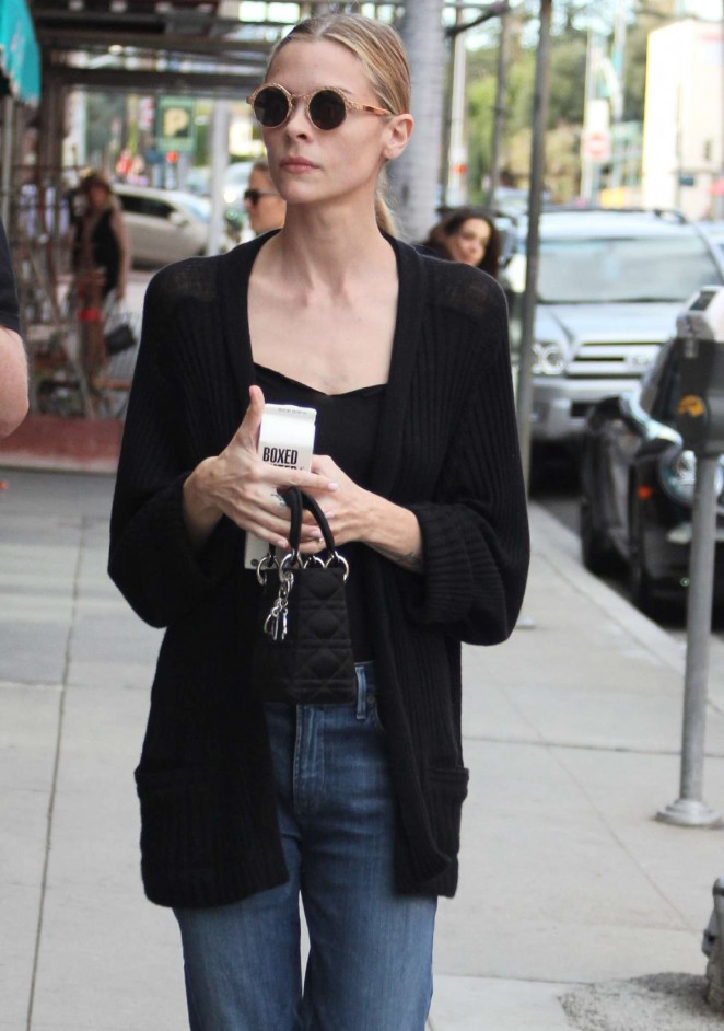 Jaime King in Jeans - out in Beverly Hills