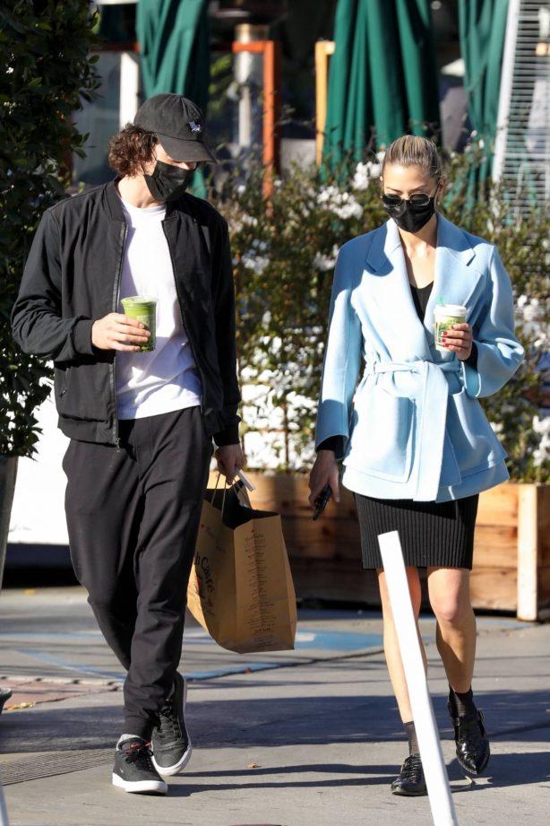 Jaime King - With boyfriend Sennett Devermont in West Hollywood