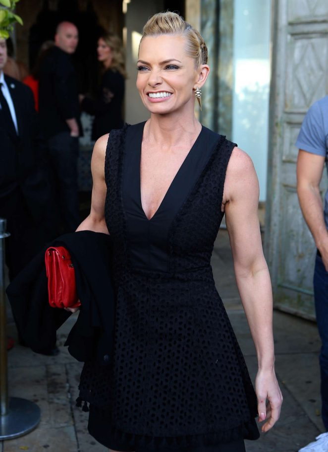 Jaime Pressly - Celebrates at 'Sur' Restaurant in LA