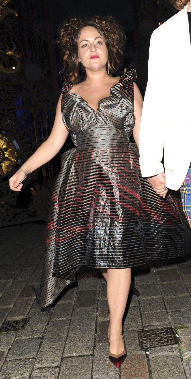 Jaime Winstone – Arrives at VIP preview Royal Academy of
