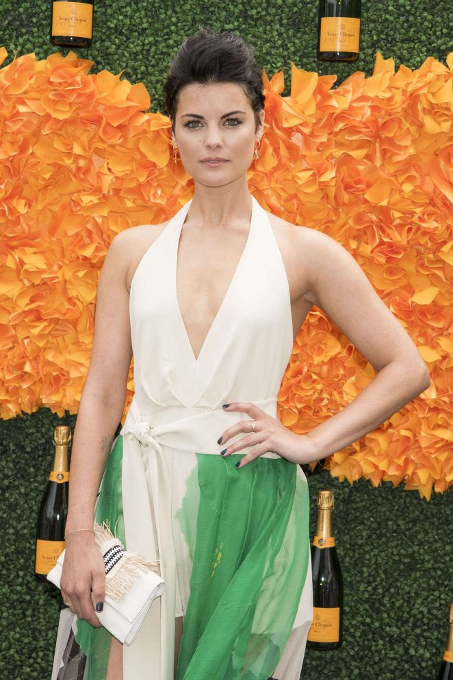 Jaimie Alexander – 2016 Veuve Clicquot Polo Classic in New Jersey