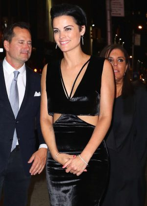 Jaimie Alexander - Arrives at WME Upfronts Afterparty in New York