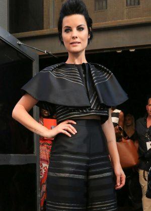 Jaimie Alexander - Christian Siriano Show at 2016 New York Fashion Week in NY