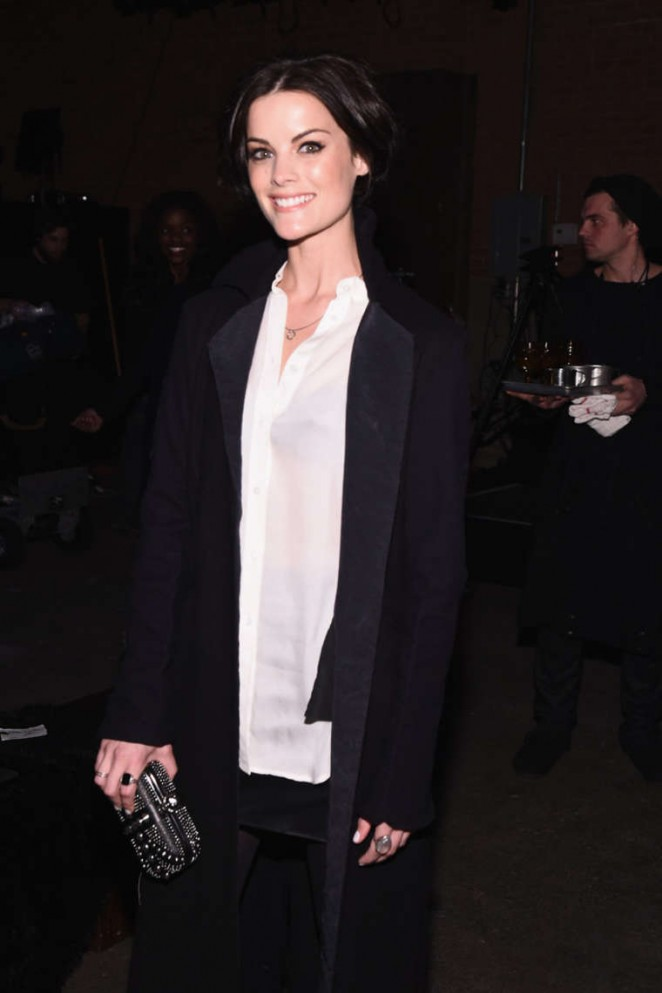 Jaimie Alexander - Greg Lauren Fashion Show 2015 in NYC