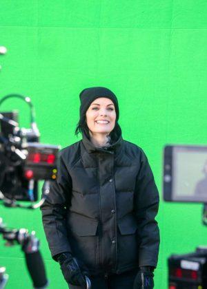 Jaimie Alexander - On the set of 'Blindspot' Season 4