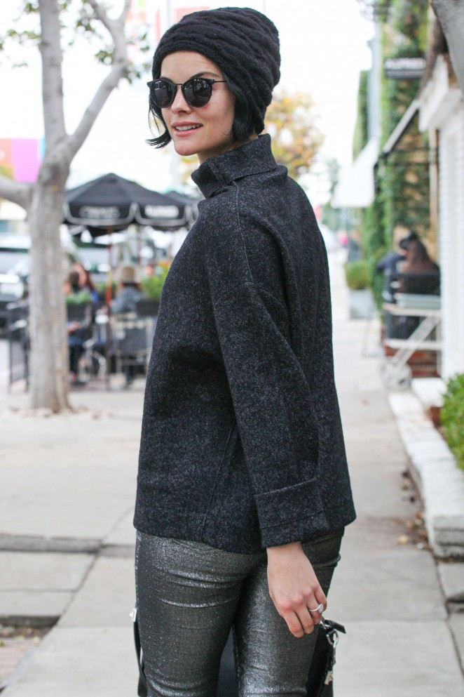 Jaimie Alexander out in Beverly Hills