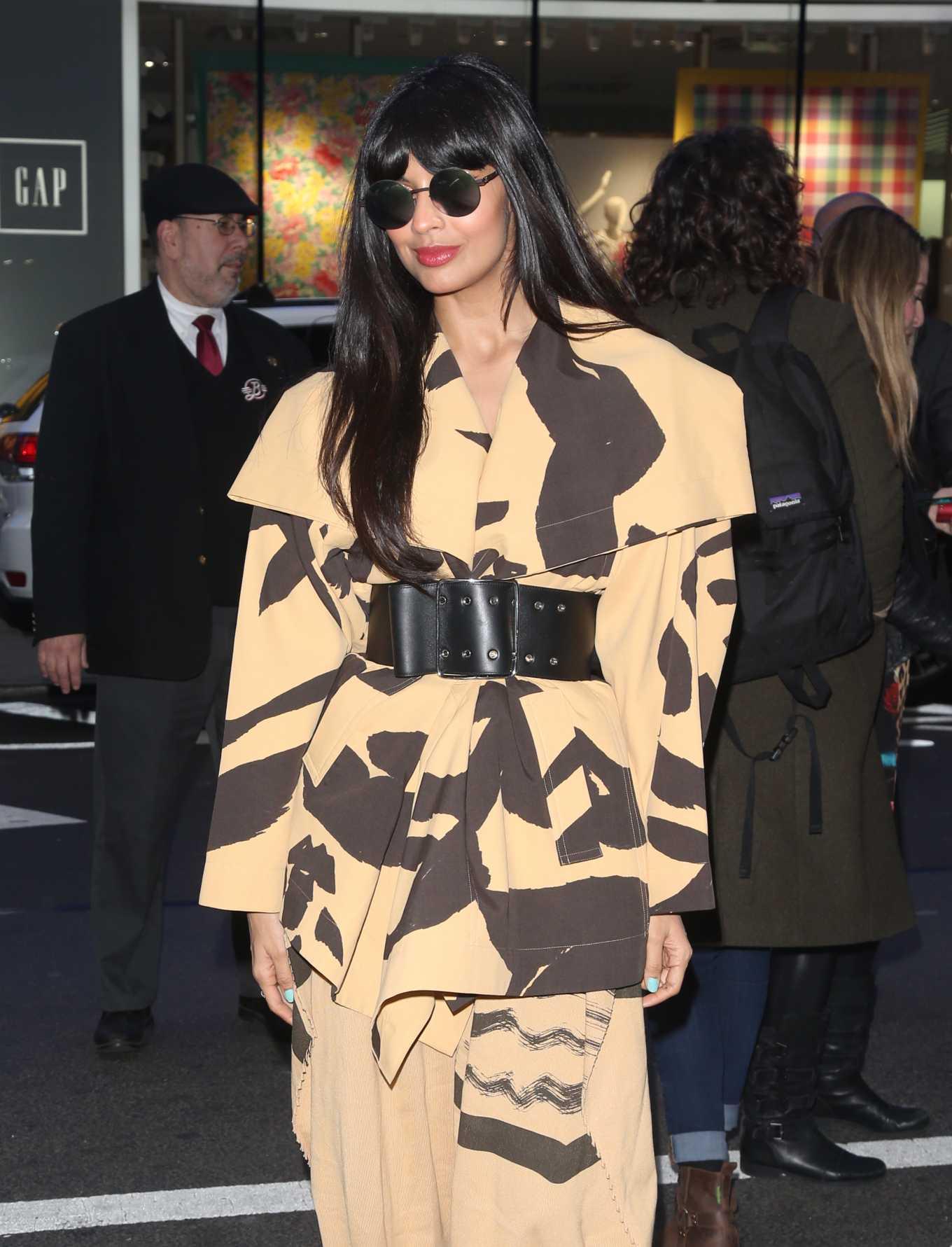 Jameela Jamil at 'Good Morning America' in New York